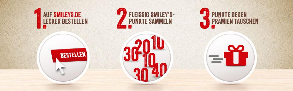 Smileys - Die Pizza Profis